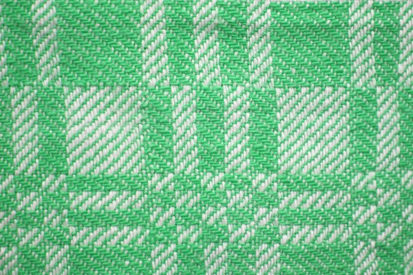 Green and White Woven Fabric Texture with Squares Pattern - Free High Resolution Photo