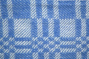 Light Blue and White Woven Fabric Texture with Squares Pattern - Free High Resolution Photo