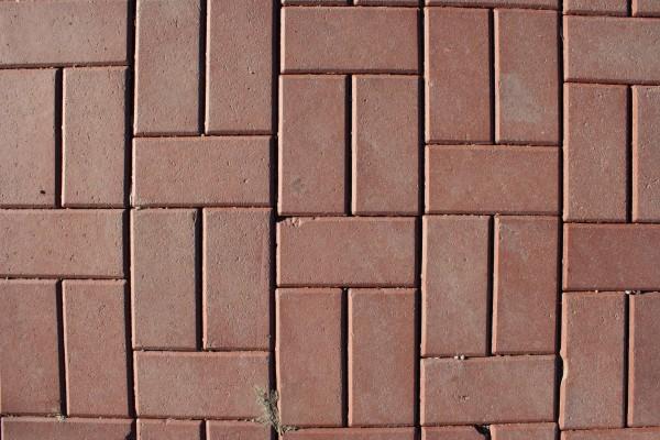 Red Brick Pavers Sidewalk Texture - Free High Resolution Photo