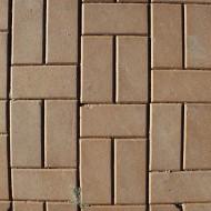 Tan Brick Pavers Sidewalk Texture - Free High Resolution Photo
