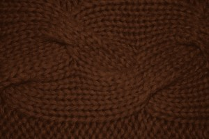 Brown Cable Knit Pattern Texture - Free High Resolution Photo