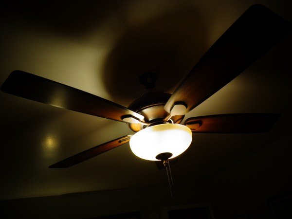 Ceiling Fan with Light - Free High Resolution Photo