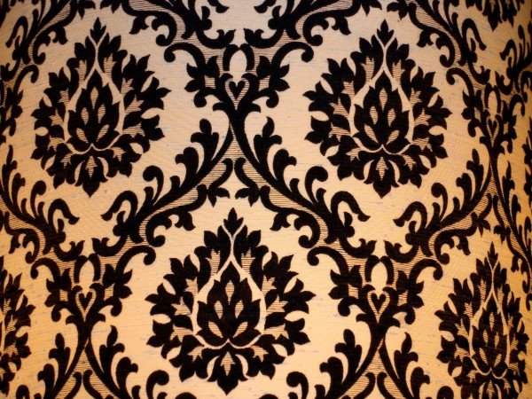 Damask Lampshade Texture Picture Free Photograph