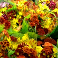 Fall Floral Bouquets Texture - Free High Resolution Photo