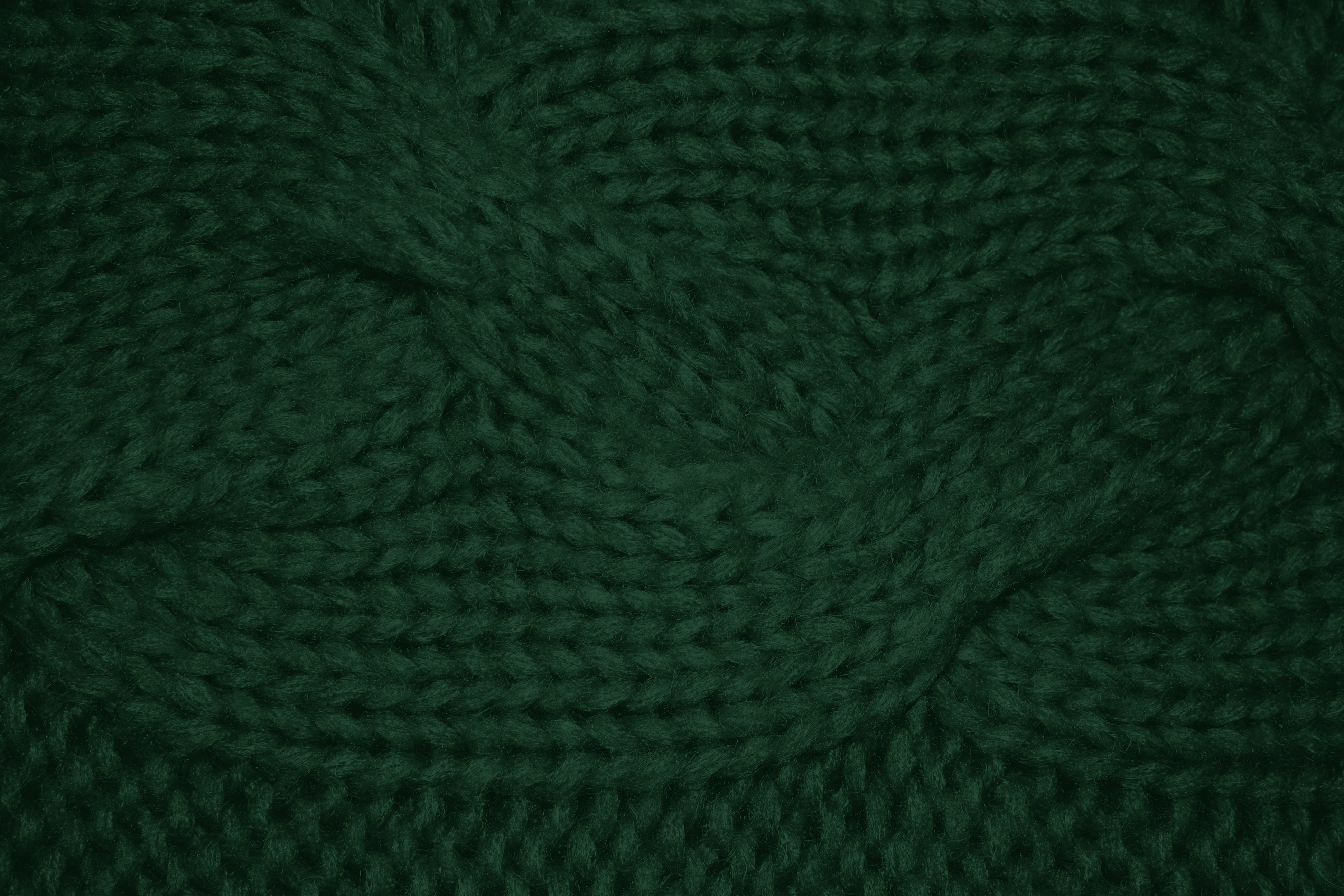 Forest Green Cable Knit Pattern Texture Picture   Free Photograph ...