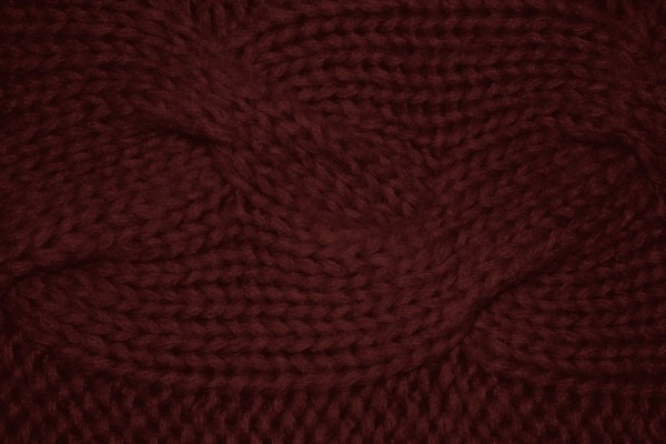 Maroon Cable Knit Pattern Texture - Free High Resolution Photo