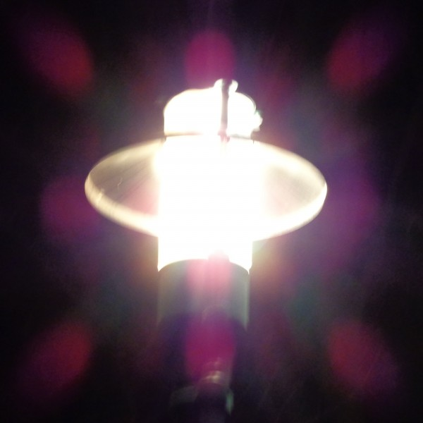 Streetlamp with Pink Halo - Free High Resolution Photo