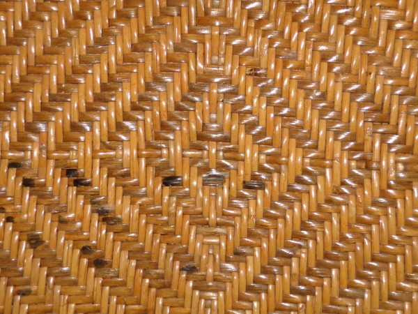Woven Straw with Diamond Pattern Texture - Free High Resolution Photo