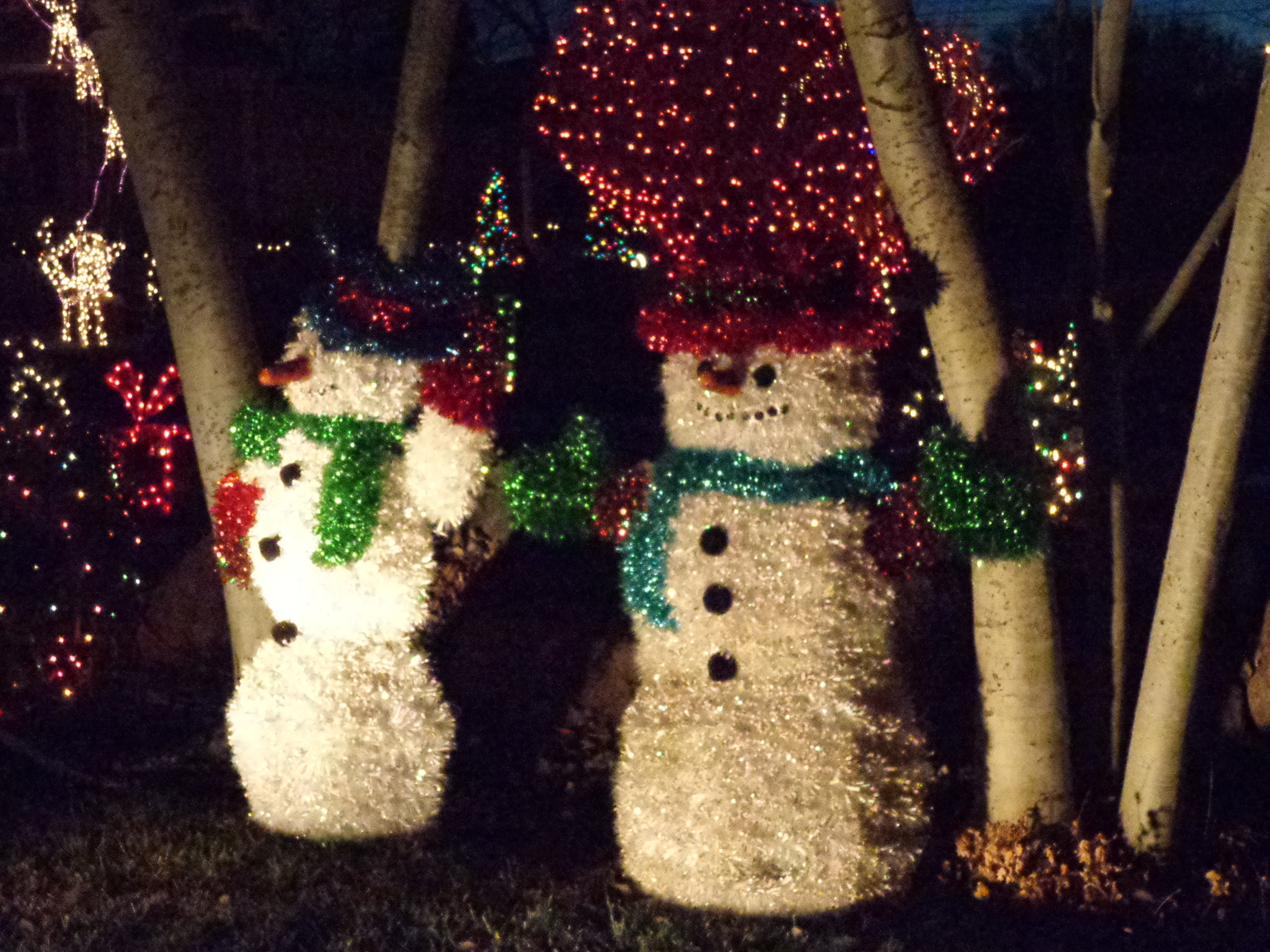 Christmas Snowmen Holiday Yard Decorations