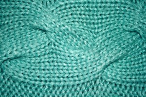 Teal Cable Knit Pattern Texture - Free High Resolution Photo
