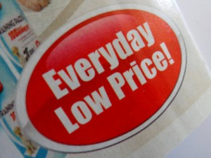 Everyday Low Price Advertisement - Free High Resolution Photo