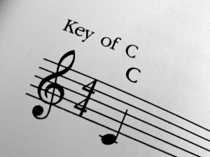 Music in the Key of C - Free High Resolution Photo