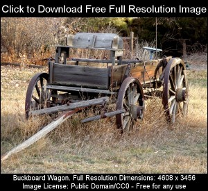 Buckboard Wagon - Free High Resolution Photo - Dimensions: 4608 x 3456