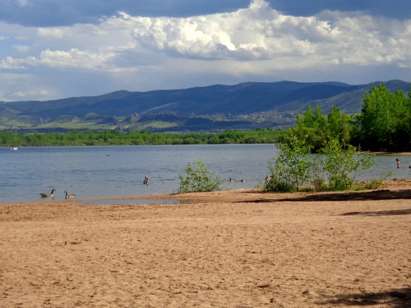 Swim Beach at Chatfield Lake - Free High Resolution Photo