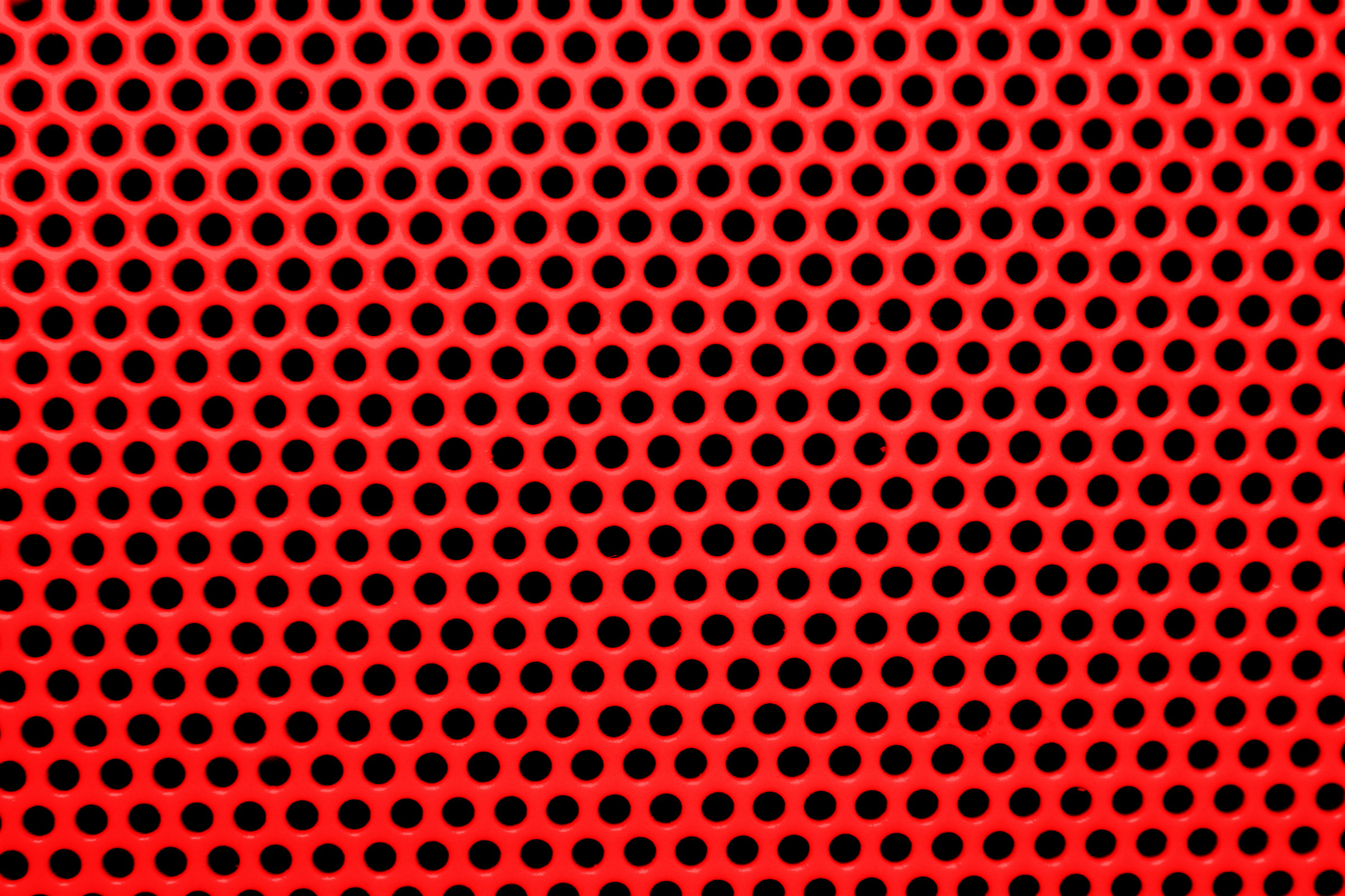 Bright Red Mesh With Round Holes Texture Picture Free