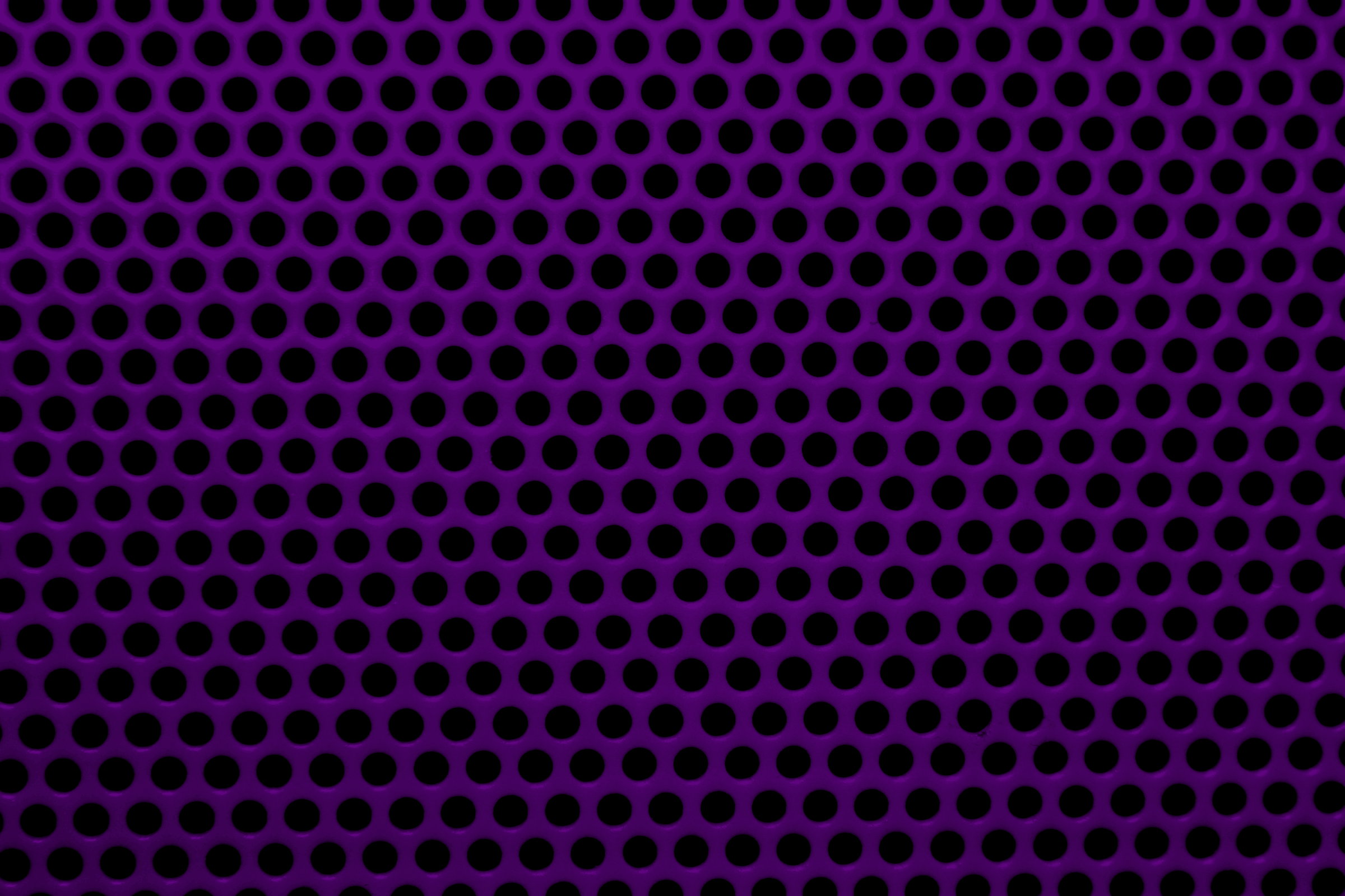 Dark Purple Metal Mesh With Round Holes Texture Picture