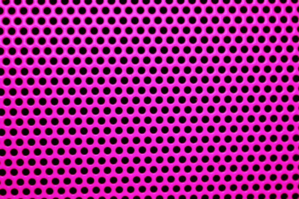 Fuchsia Hot Pink Metal Mesh with Round Holes Texture - Free High Resolution Photo