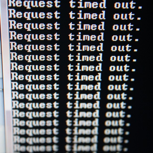 Request Timed Out Error Message - Free High Resolution Photo