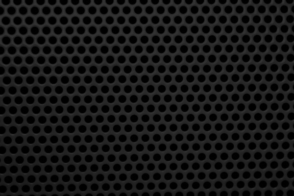 Black Mesh with Round Holes Texture - Free High Resolution Photo