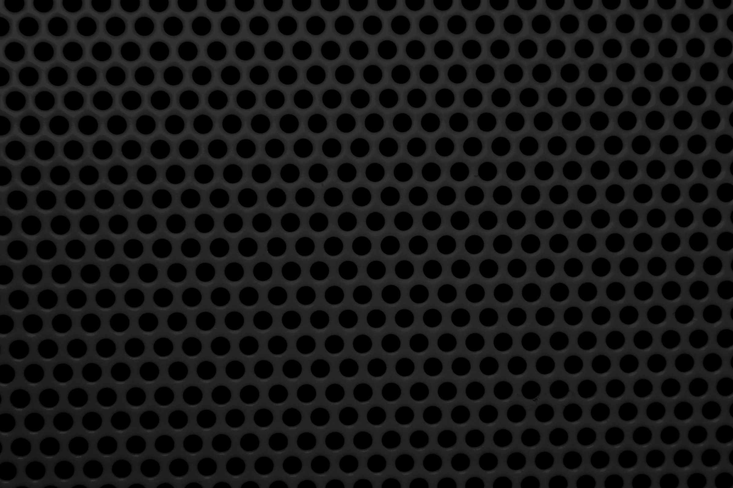 Black metal mesh with round holes texturejpg 24001600