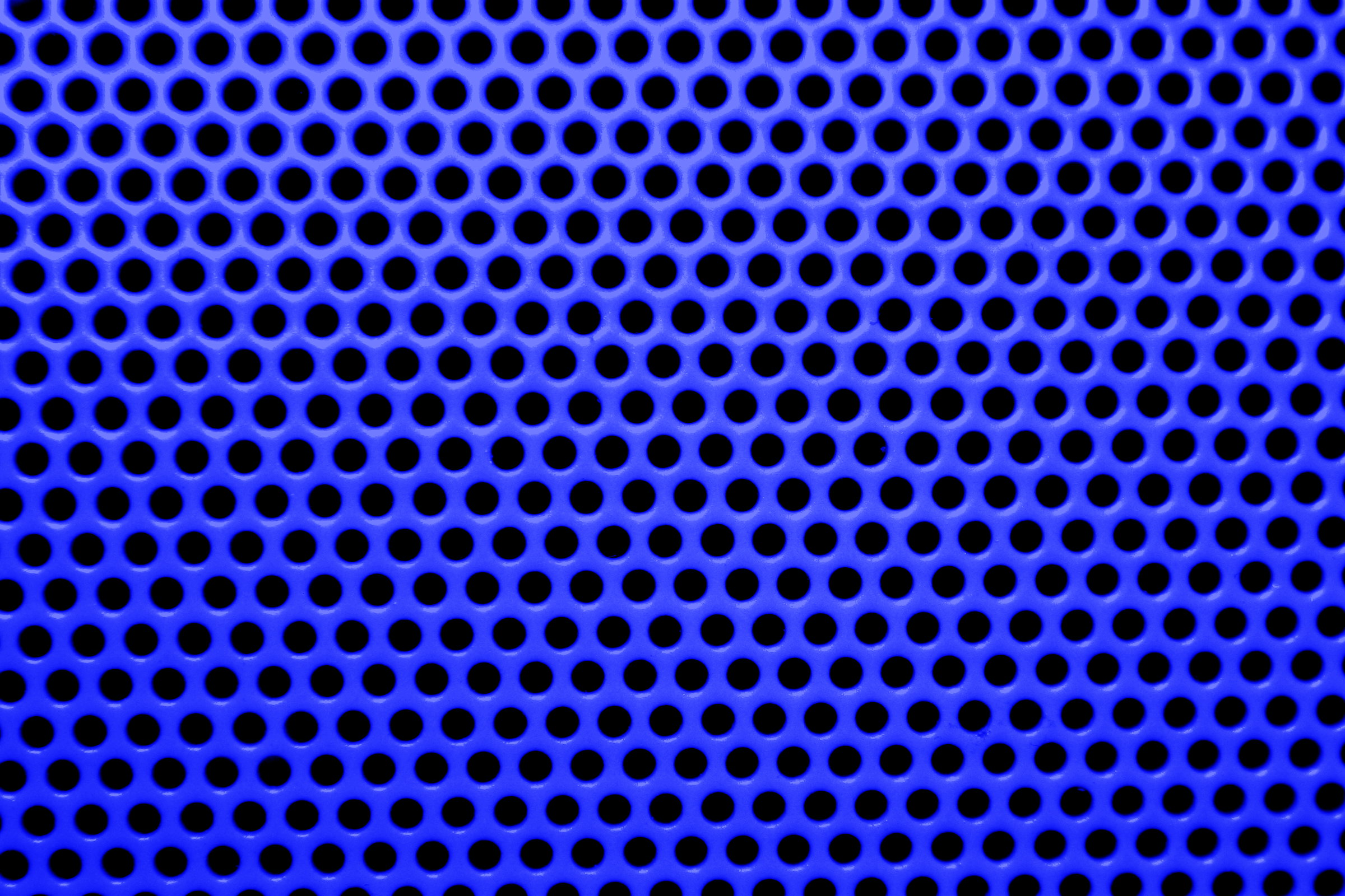 Blue Mesh With Round Holes Texture Picture Free