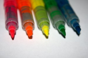 Colorful Marker Pens - Free High Resolution Photo