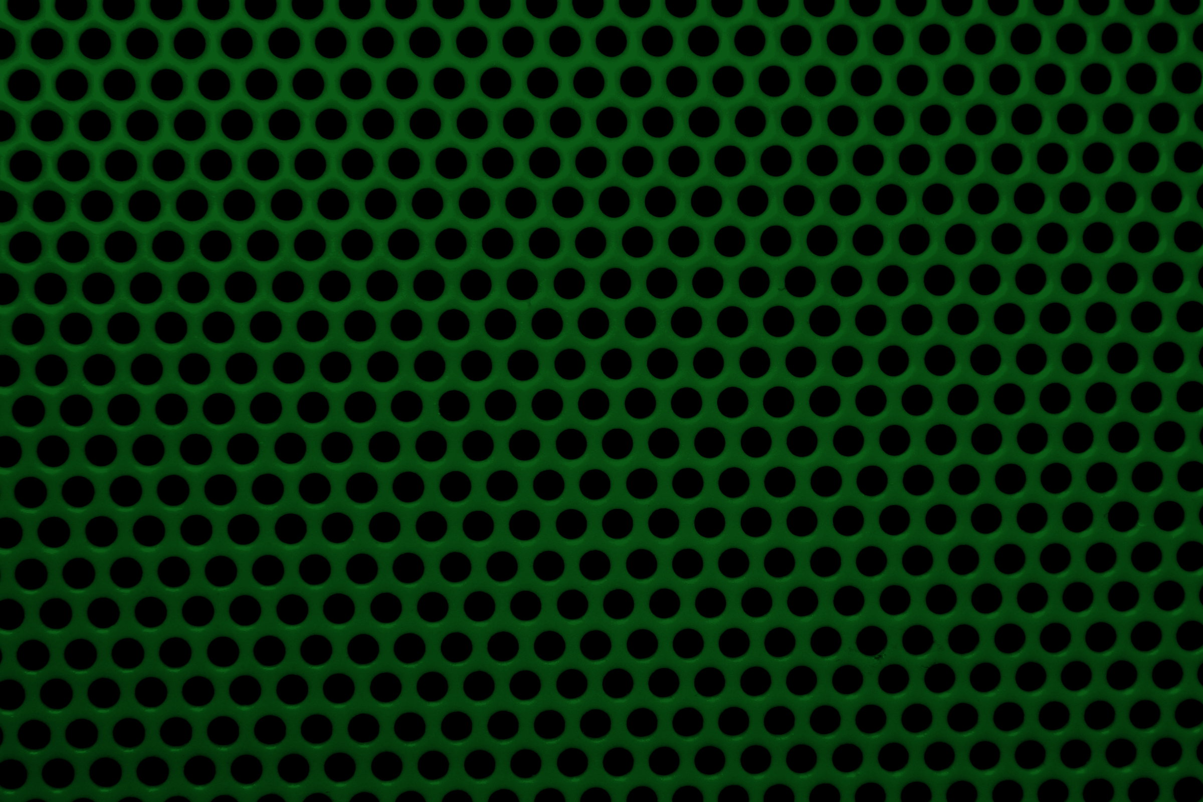 Forest Green Mesh With Round Holes Texture Picture Free