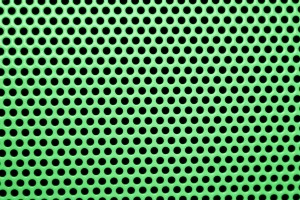 Green Mesh with Round Holes Texture - Free High Resolution Photo