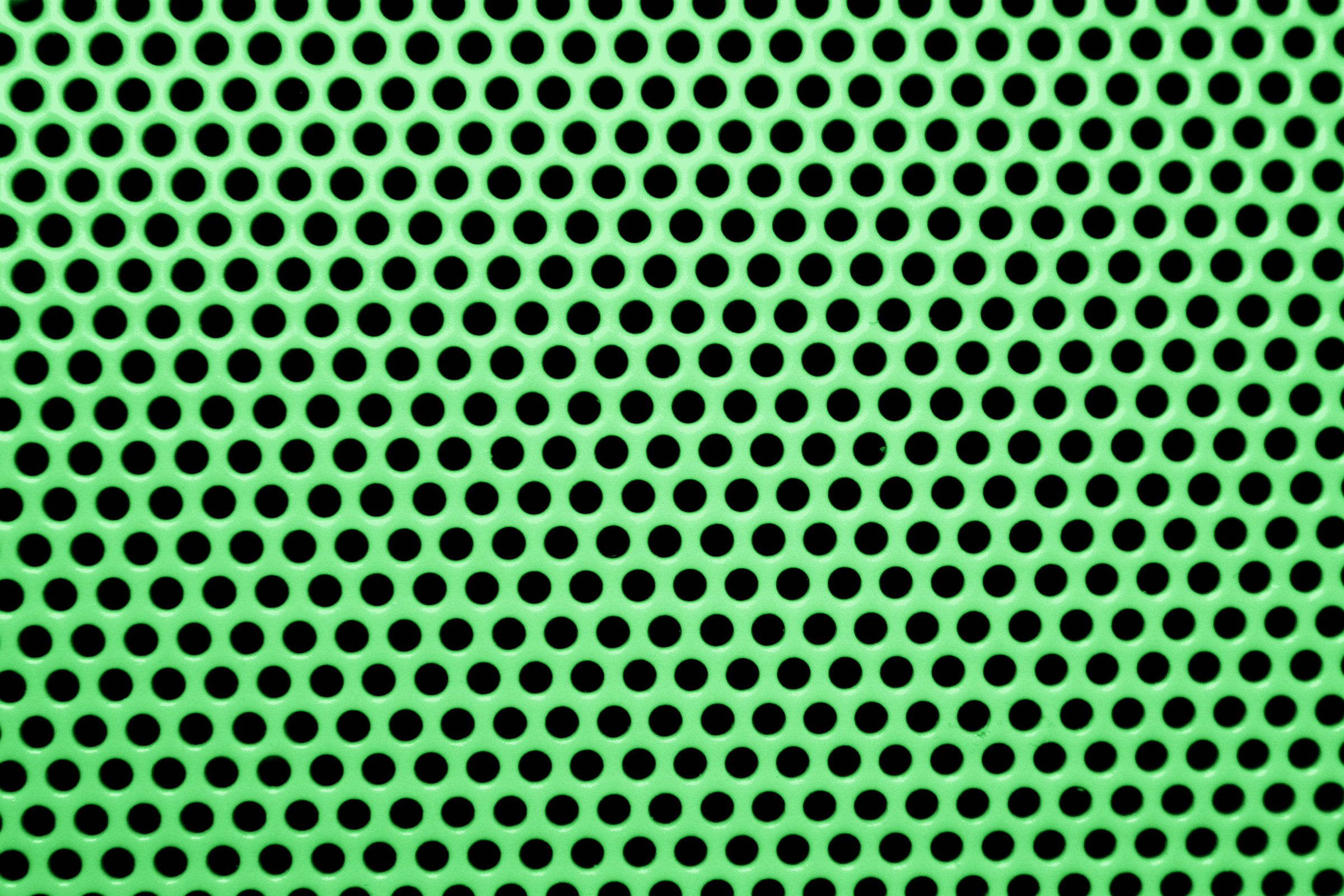 Green Mesh With Round Holes Texture Picture Free