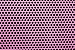 Pink Mesh with Round Holes Texture - Free High Resolution Photo