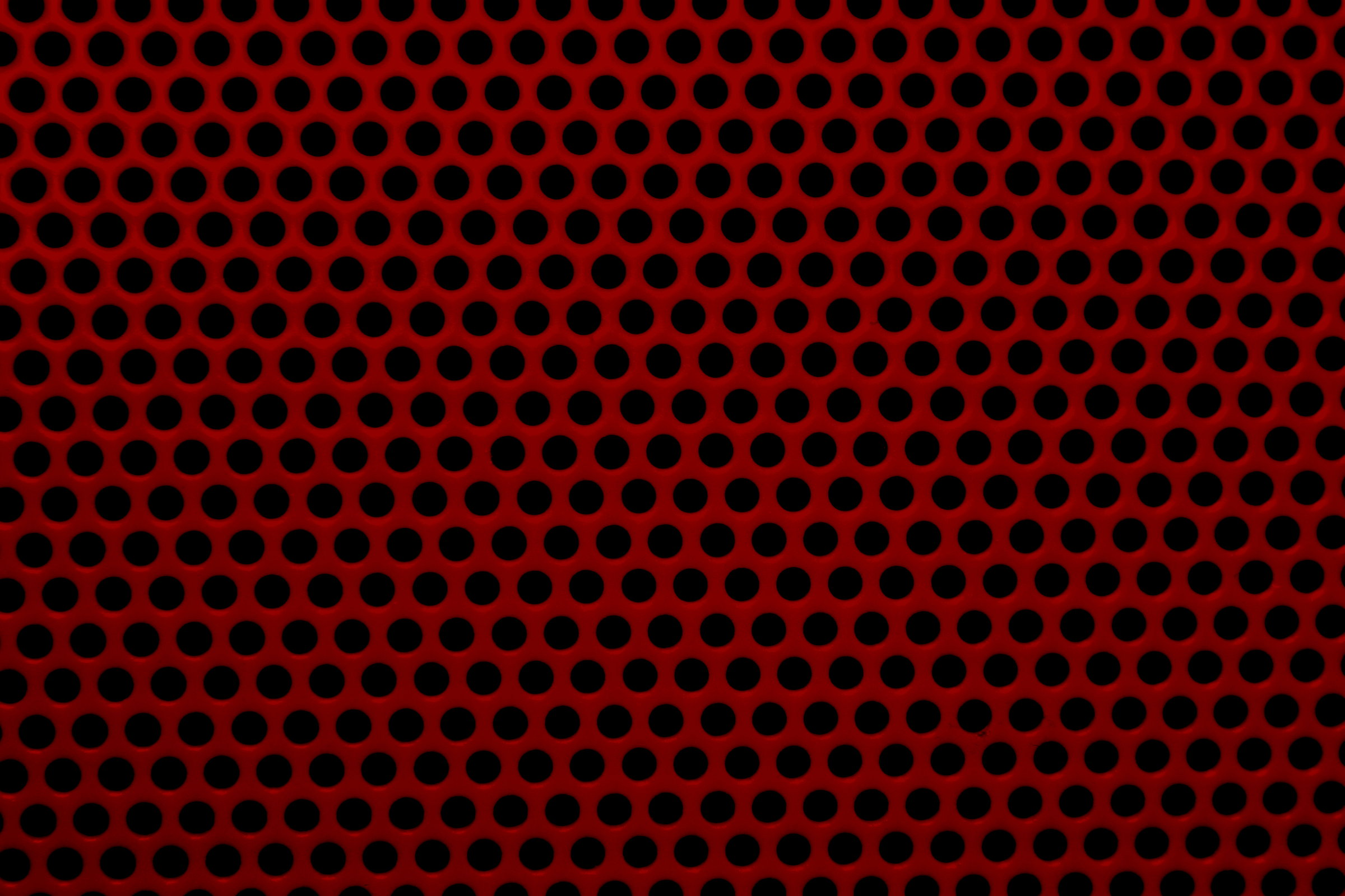 Red Mesh With Round Holes Texture Picture Free