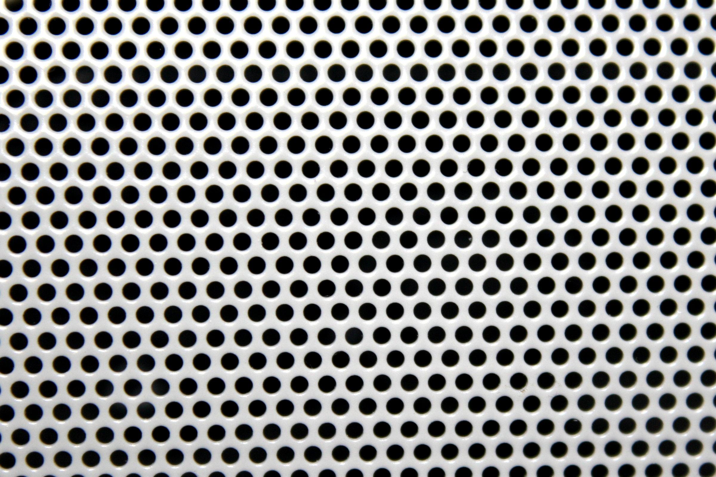 White Mesh With Round Holes Texture Photos Public Domain