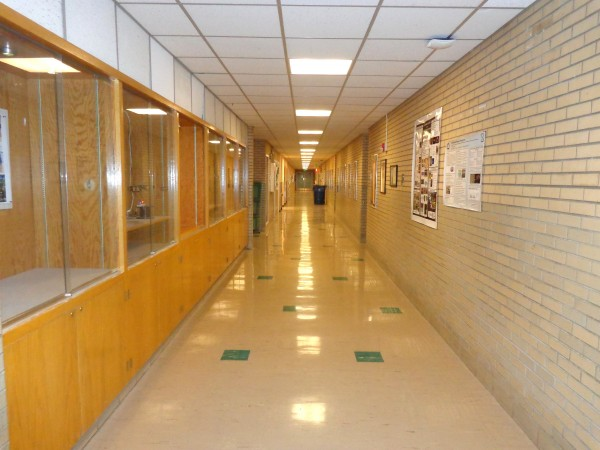 Empty School Hallway - Free High Resolution Photo
