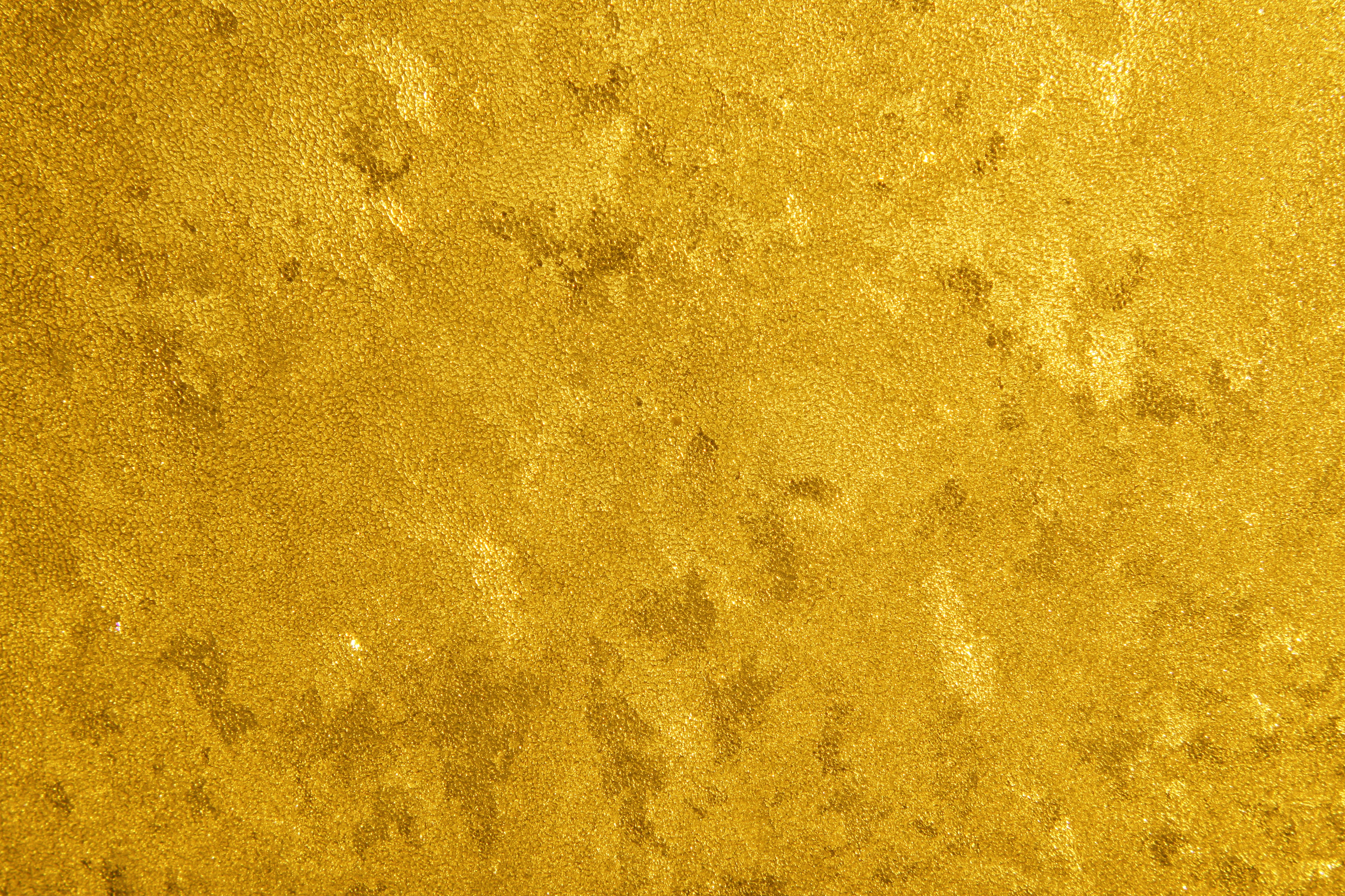 Gilding Glass With Gold