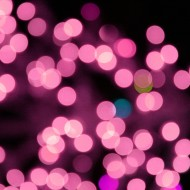 Blurred Christmas Lights Pink - Free High Resolution Photo