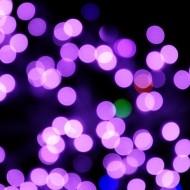 Blurred Christmas Lights Purple - Free High Resolution Photo