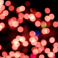 Blurred Christmas Lights Red - Free High Resolution Photo