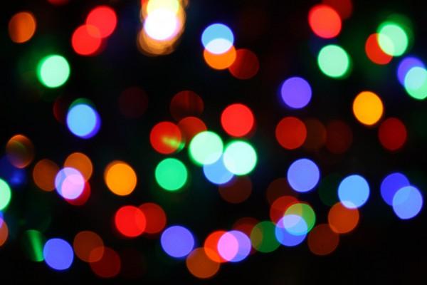 Christmas Lights - Free High Resolution Photo