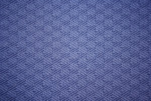 Blue Knit Fabric with Diamond Pattern Texture - Free High Resolution Photo