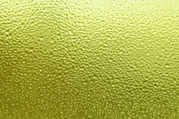 Dimpled Ice on Glass Texture Colorized Yellow - Free High Resolution Photo