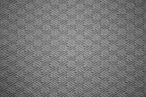 Gray Knit Fabric with Diamond Pattern Texture - Free High Resolution Photo