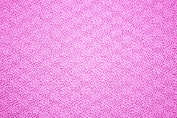 Pink Knit Fabric with Diamond Pattern Texture - Free High Resolution Photo