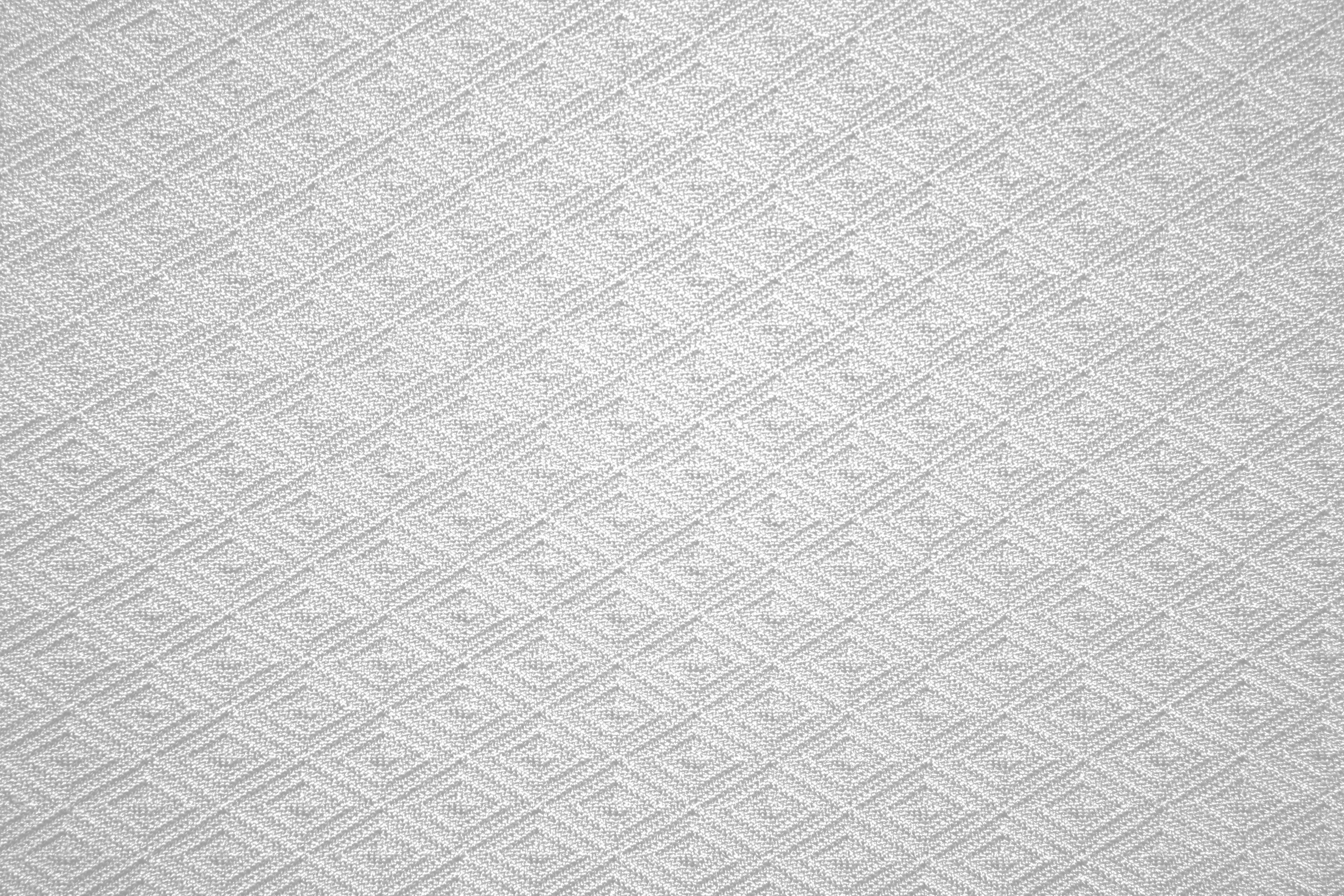 White Knit Fabric With Diamond Pattern Texture Picture
