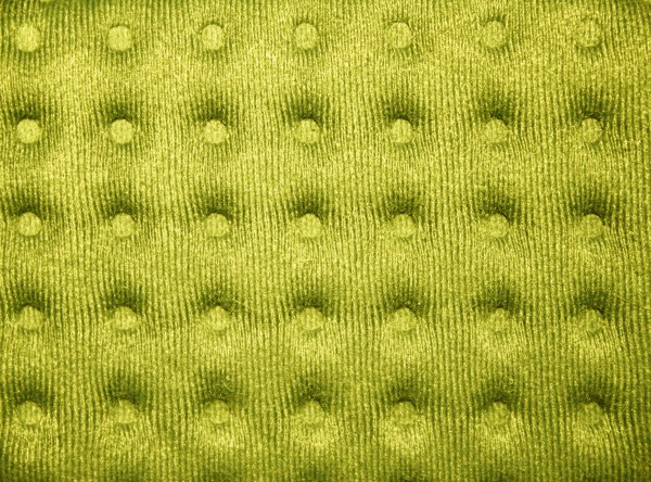 Yellow Tufted Fabric Texture - Free High Resolution Photo