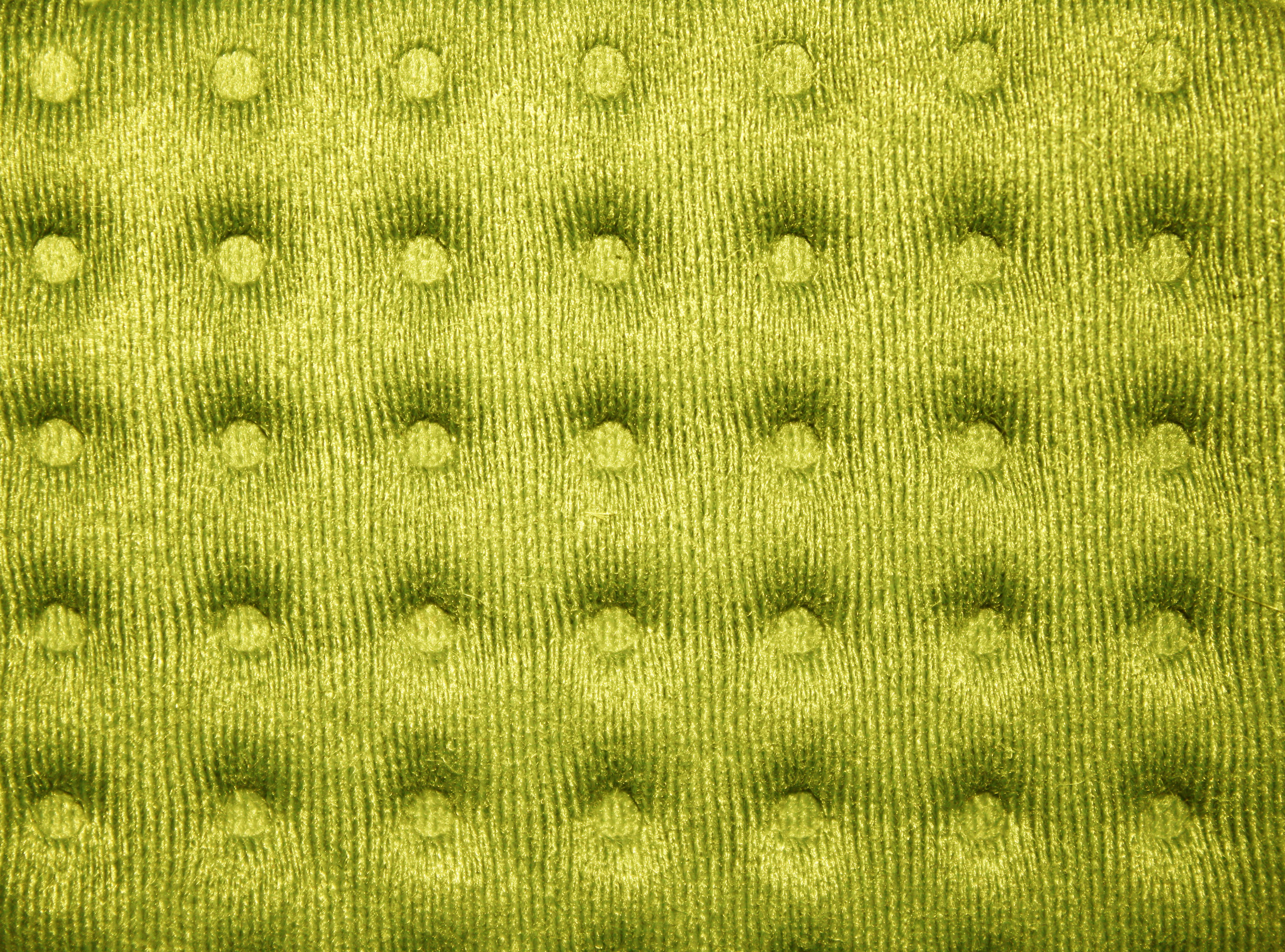 Yellow Tufted Fabric Texture Picture Free Photograph
