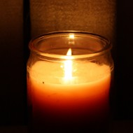 Candle in the Dark - Free High Resolution Photo