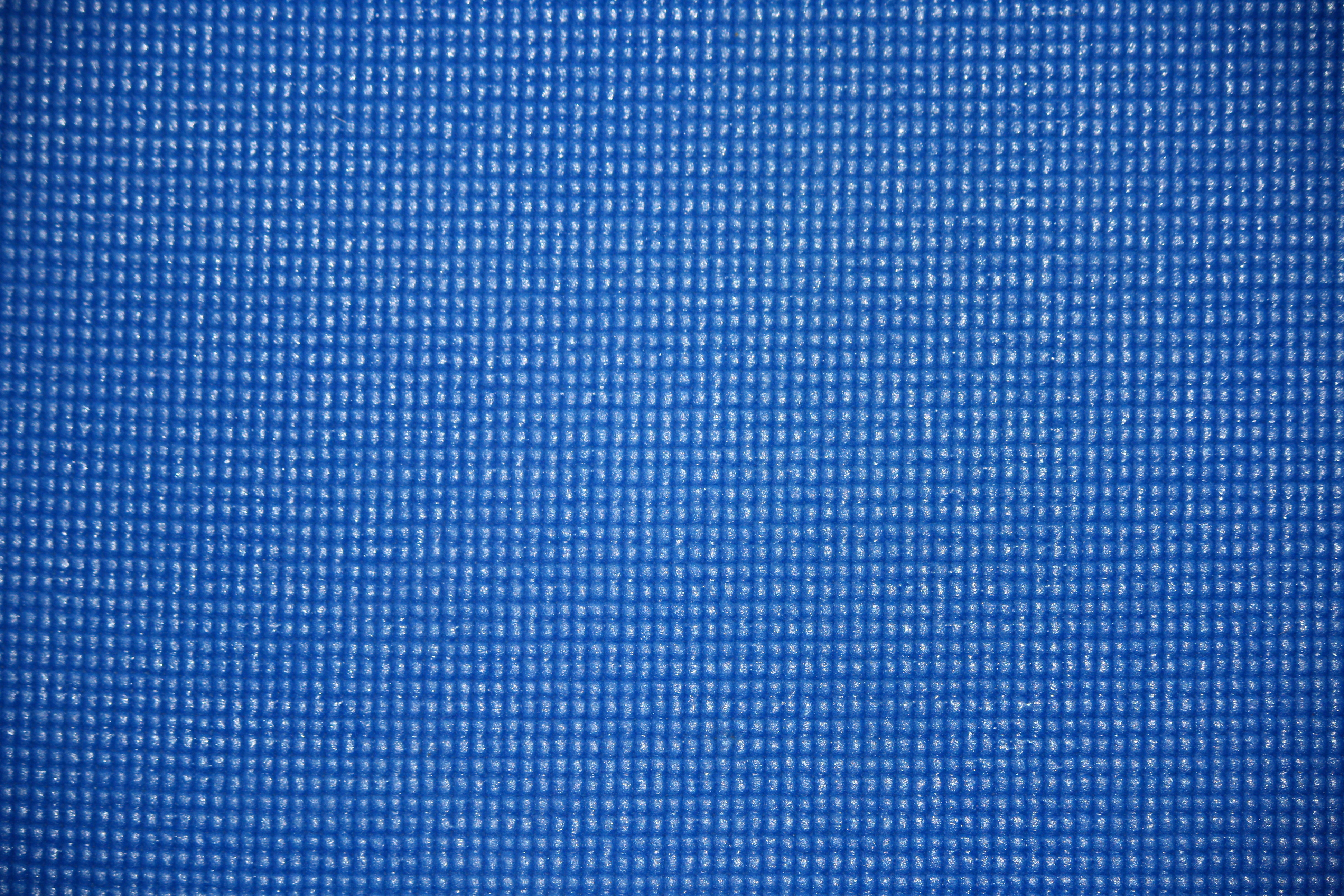 Blue Yoga Exercise Mat Texture Picture Free Photograph