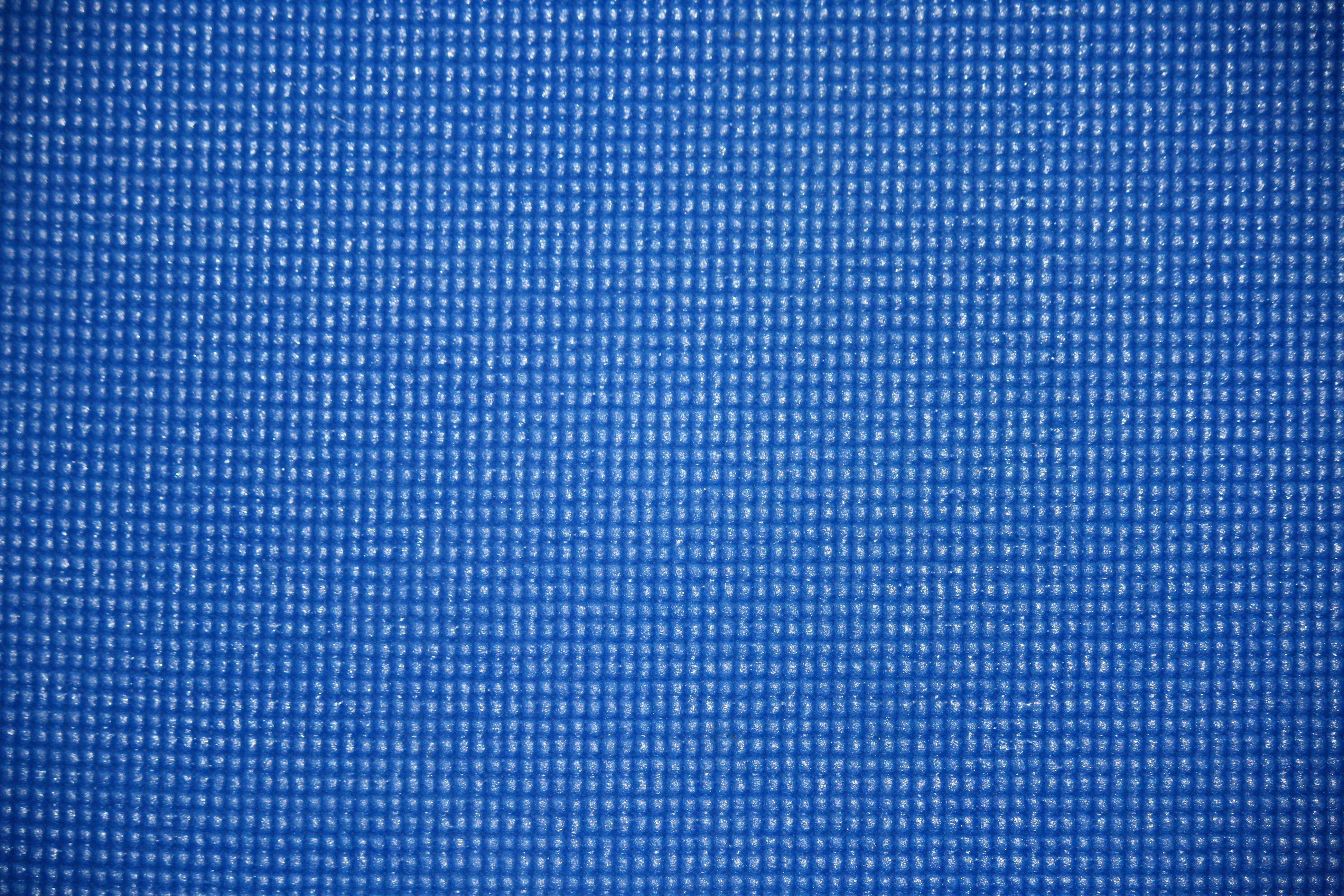 Blue Yoga Exercise Mat Texture Photos Public Domain