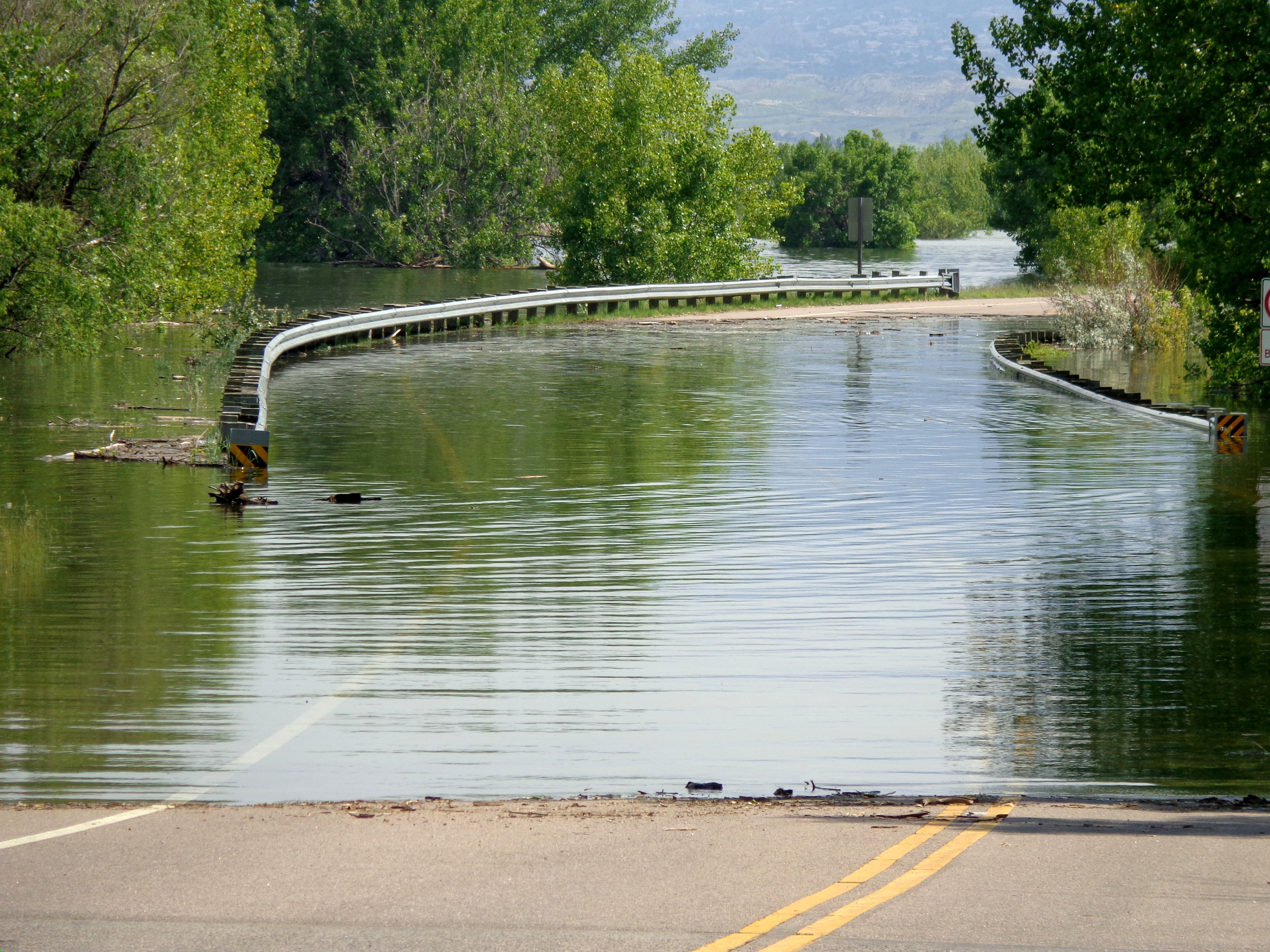 Flooded Bridge Photos Public Domain