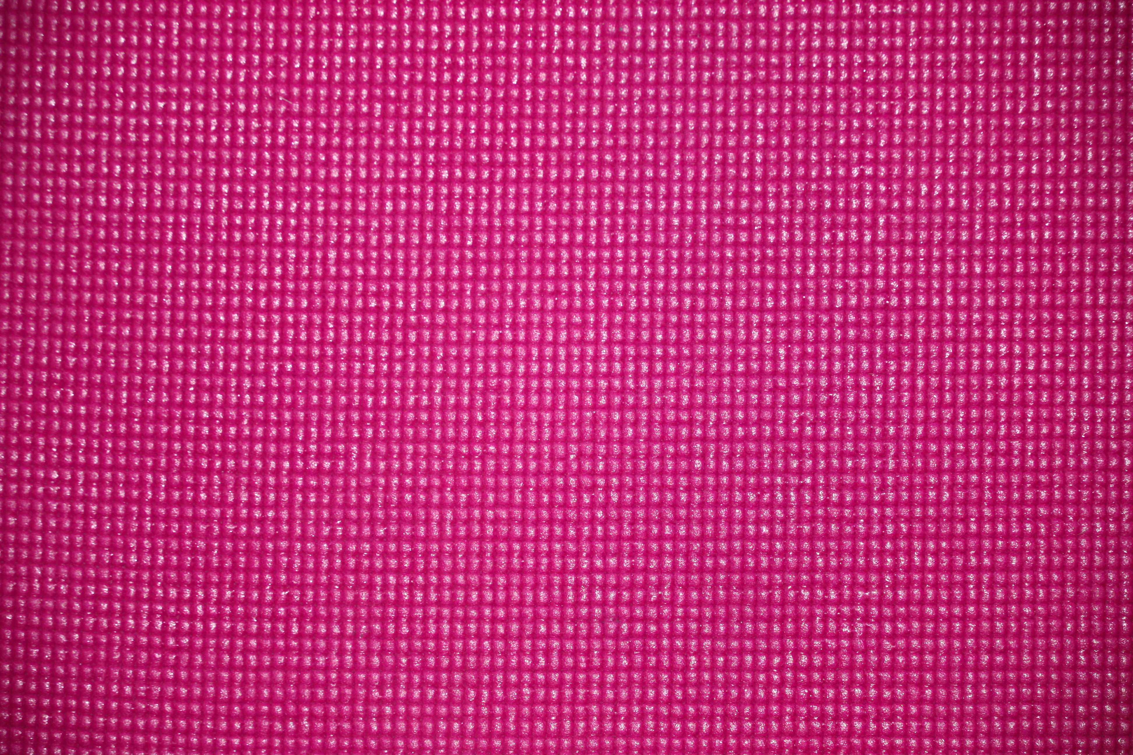 Hot Pink Yoga Exercise Mat Texture Picture Free